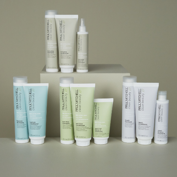 Clean Beauty collection of products