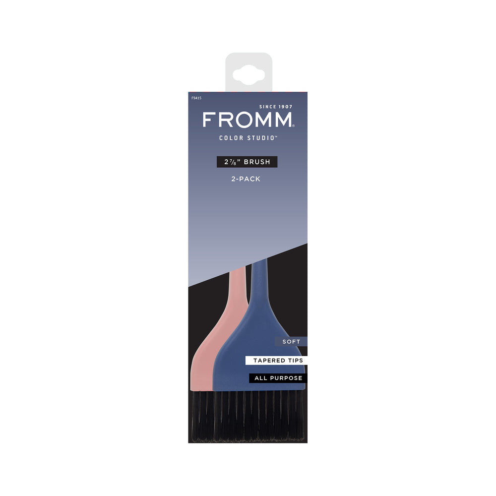 FROMM 7.30CM Soft Colour Brush 2PK