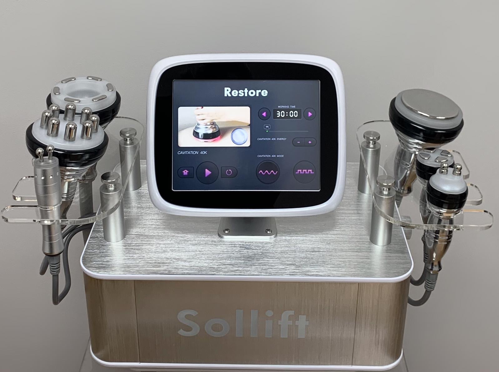 Sollift Restore 6 in 1 Cavitation System for Face and Body