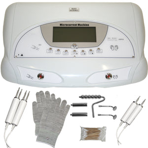 Microcurrent system with Gloves