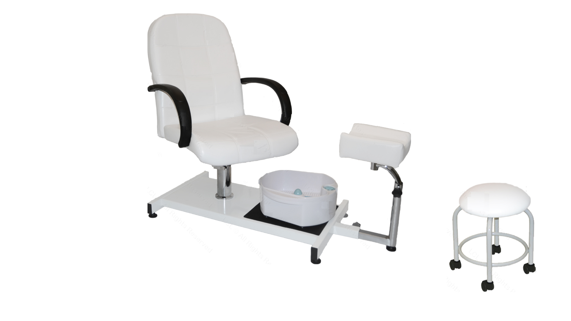 Pedicure Chair with Stool