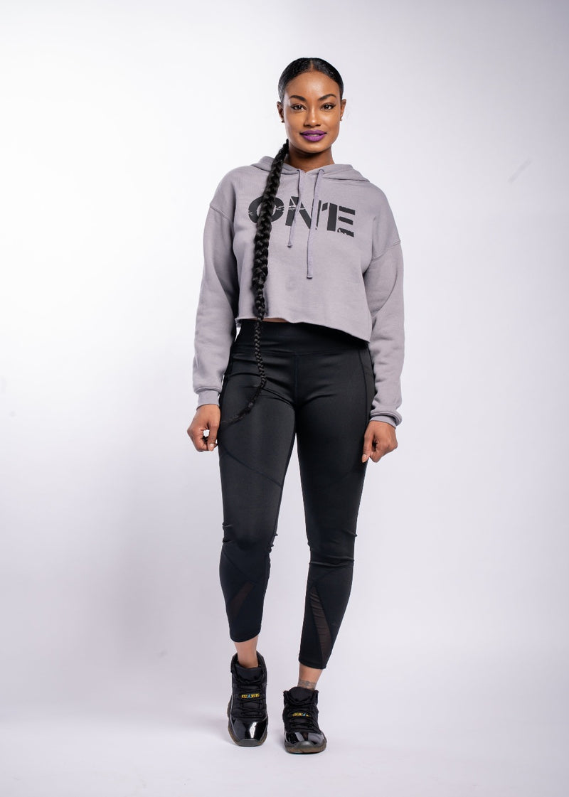 *ON1E Cropped Hoodie | LAST ONE