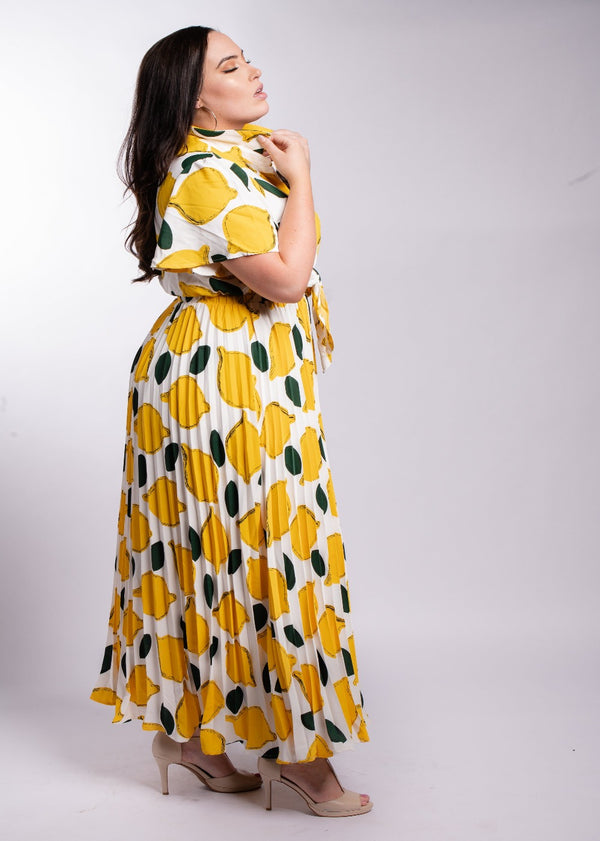 Lemonade Dress | Curvy | Last One