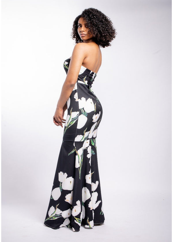 *Priceless Black Floral Dress | LAST ONE