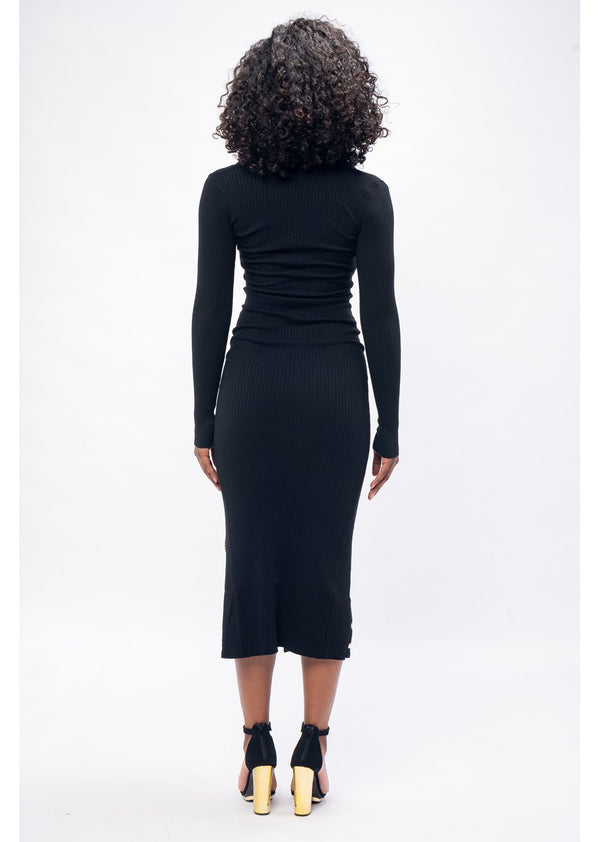 It Is What It Is Dress | Black