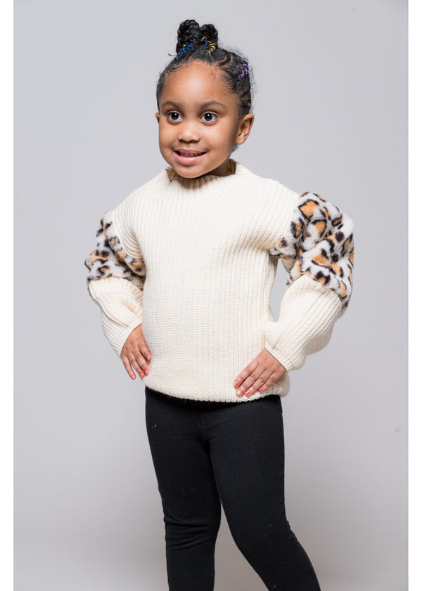 *Cozy Cheetah Sweater | Kids
