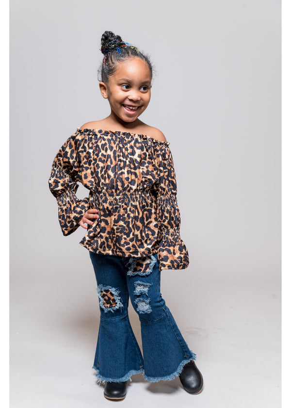 *Leopard Princess Set | Girls