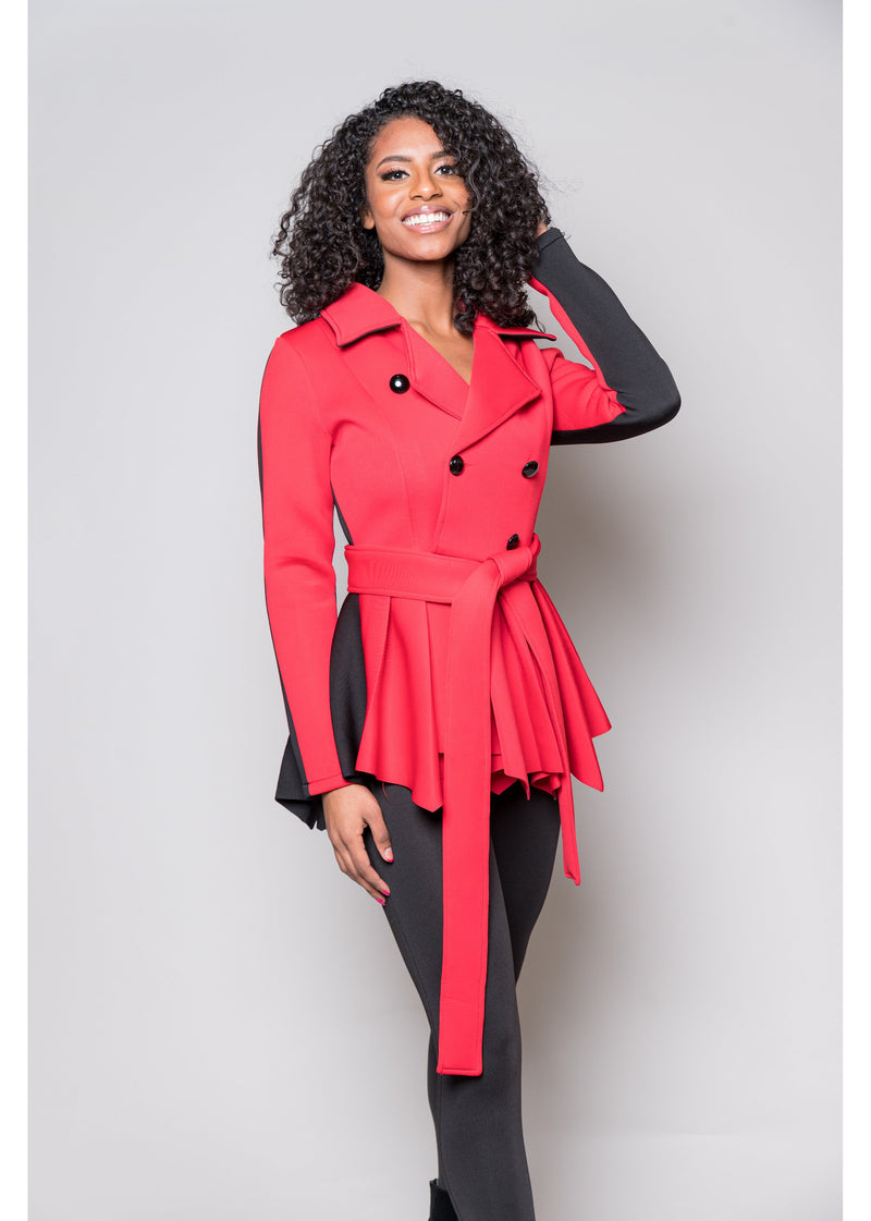 *Down To Business Jacket | Red