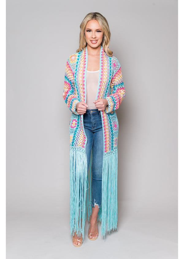 *Coachella Cardigan | Blue