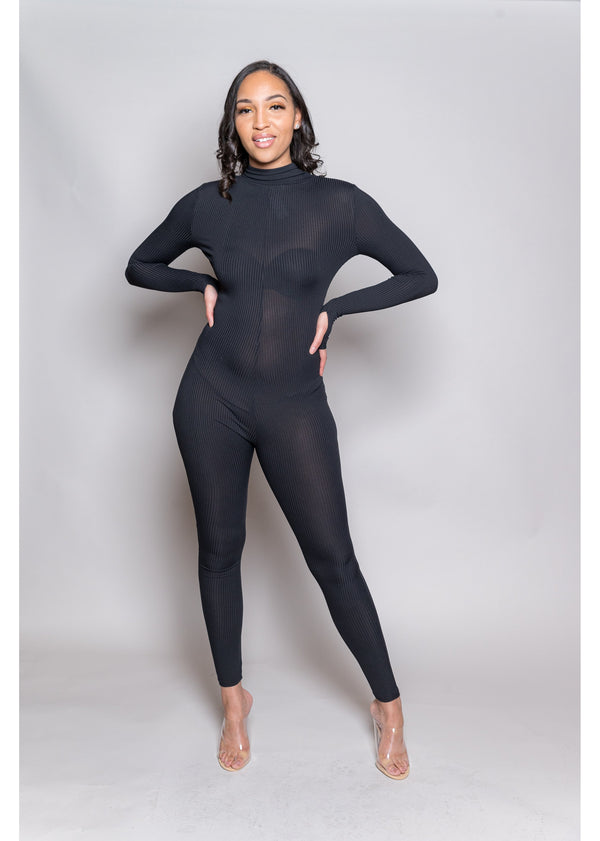 *Lucky Label Jumpsuit | Black
