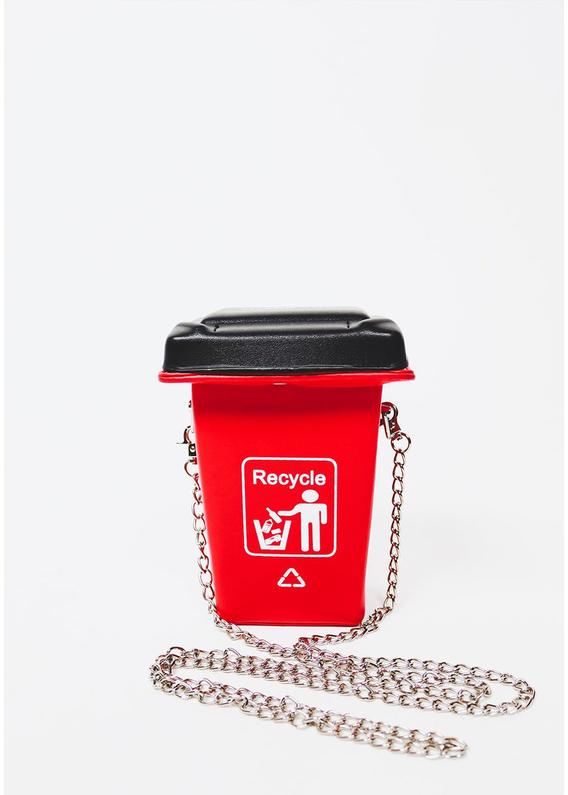 Don't Forget To Recycle | Red