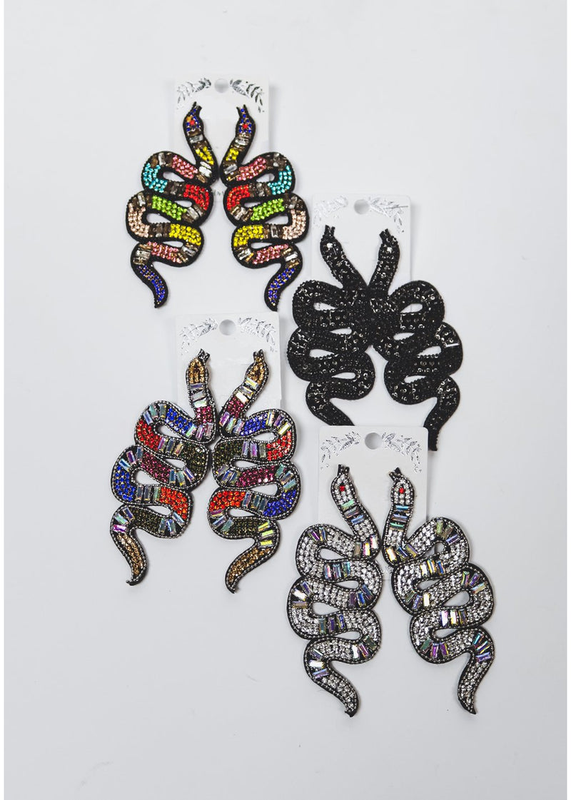 *Slither Earrings | Multiple Colors