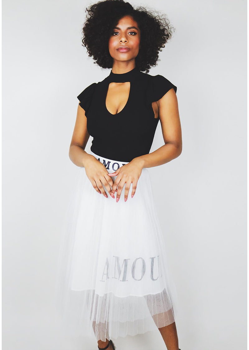Mi Amour Skirt | One Size