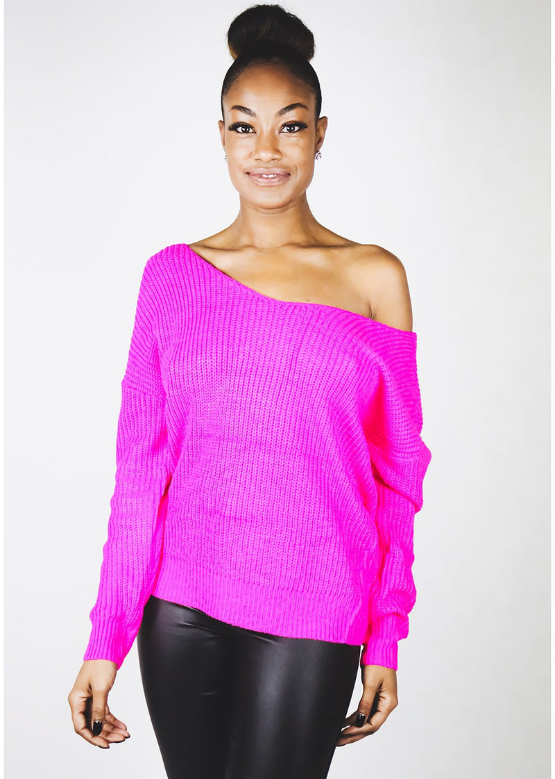 Twisted Sweater | Pink