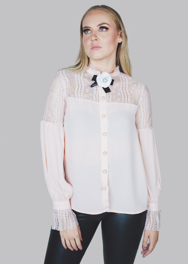 Blush Rose Blouse