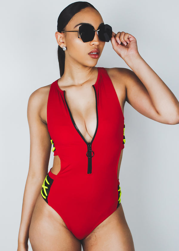 Zipped Swimsuit