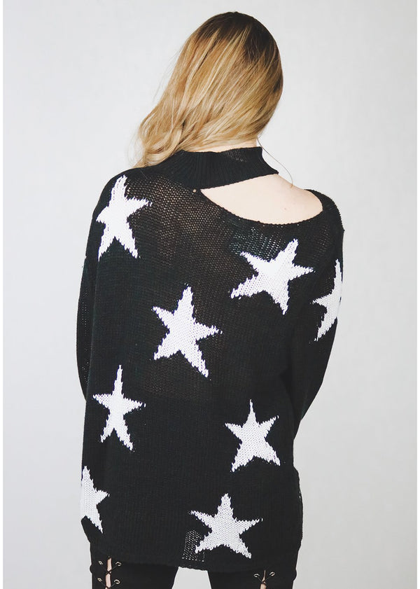 Oh Say Sweater | Black