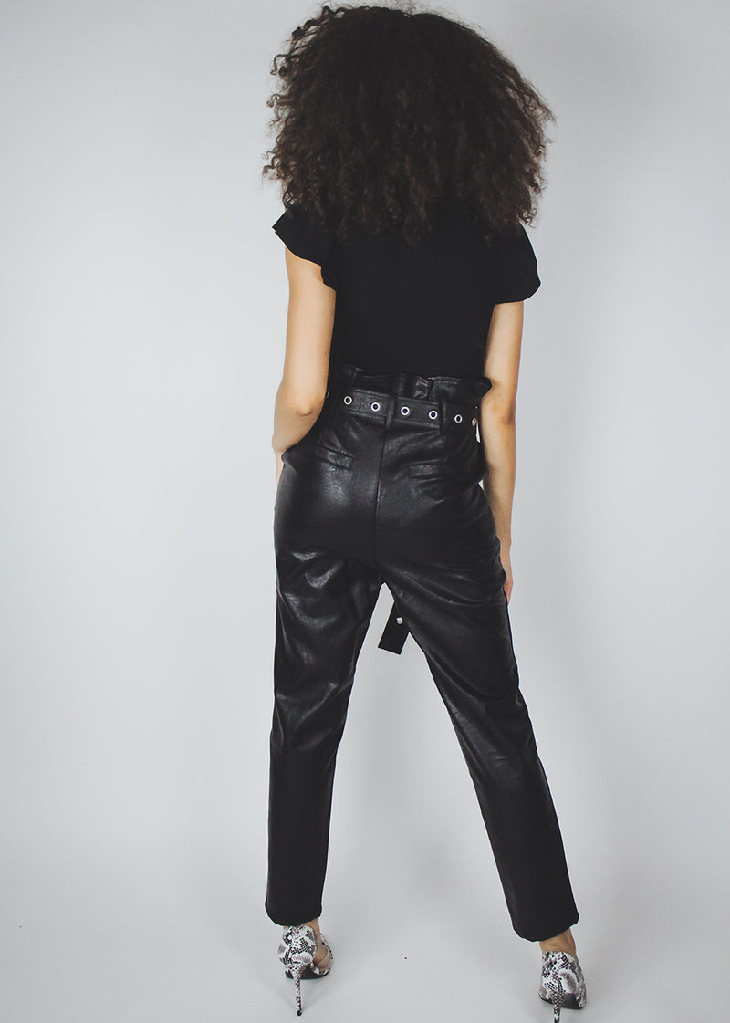 Fly High Leather Pants