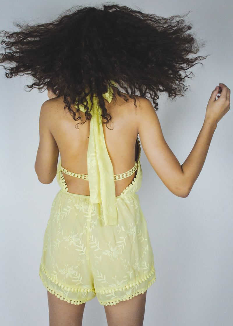 *Yellow Lace | LAST ONE