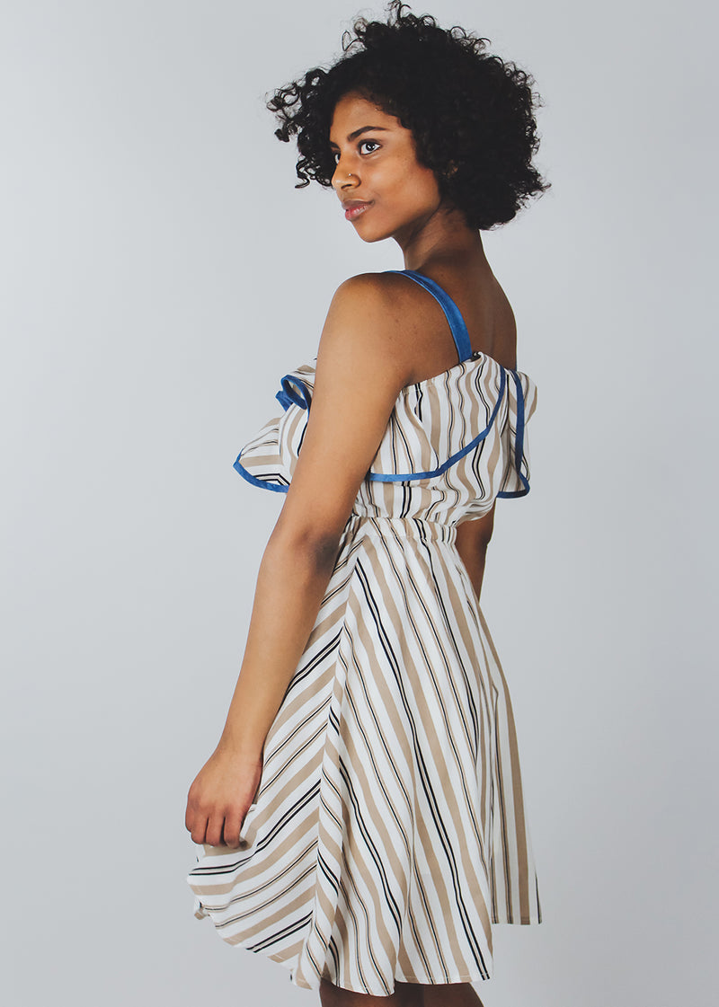 *Blue | Tan Dress | Last One