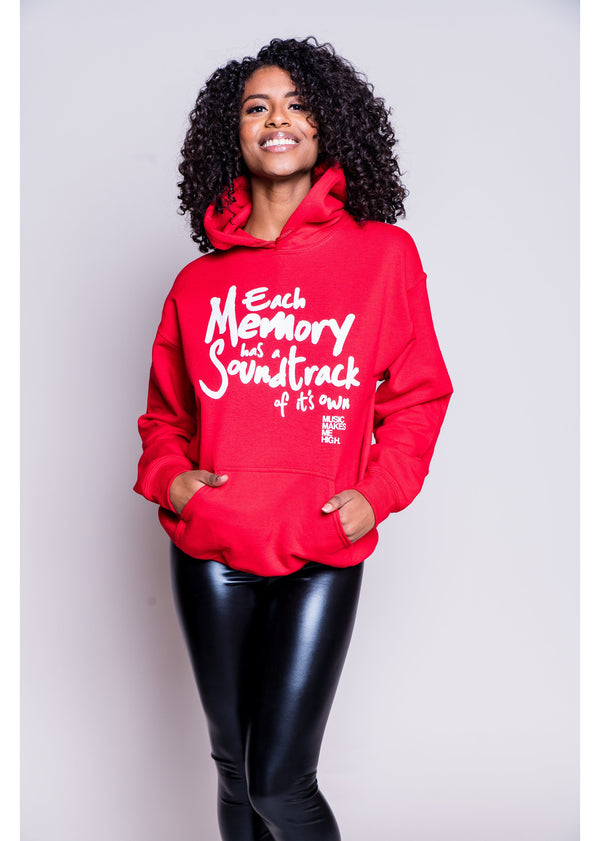 *Soundtrack Hoodie | Red