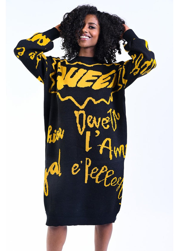 *Neeuq Sweater Dress