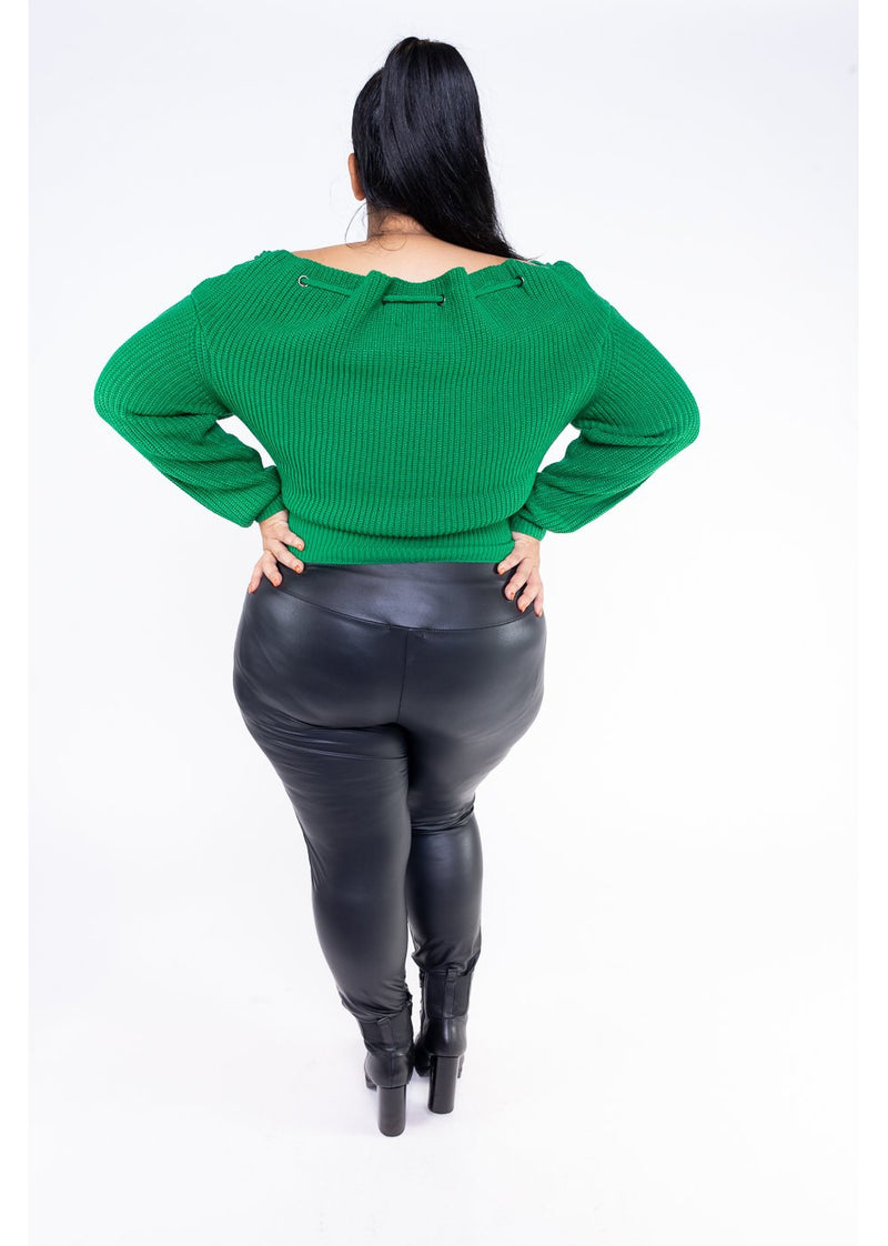 *Anastasia Sweater | Green