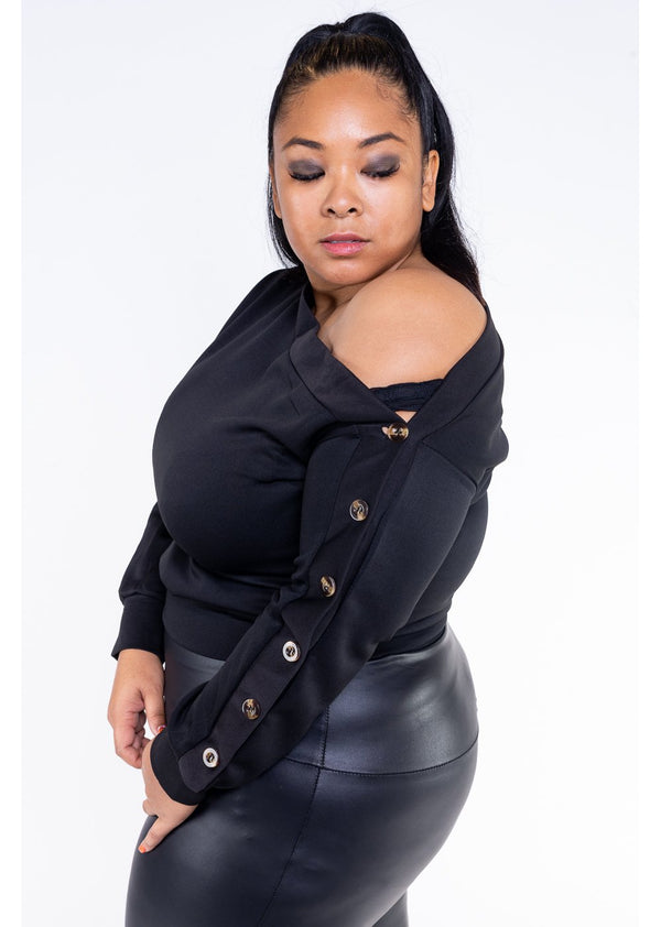 *Fly Away With Me | Black | Curvy | Last One