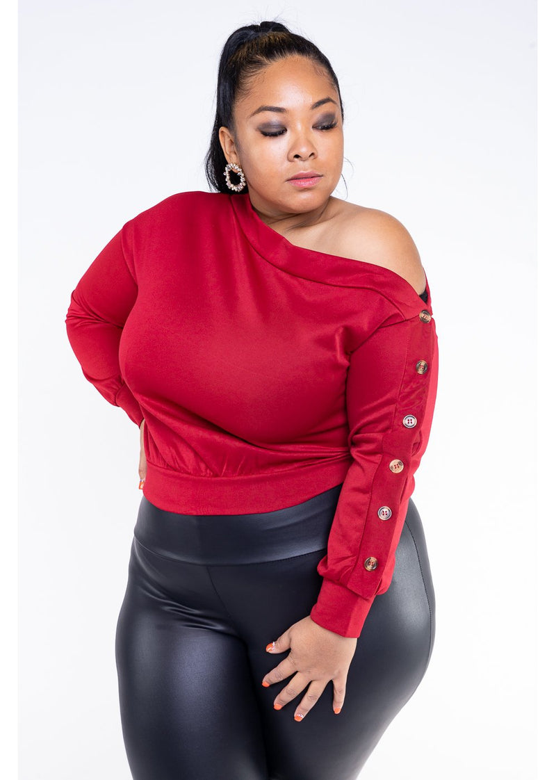 *Fly Away With Me | Red | Curvy | Last One