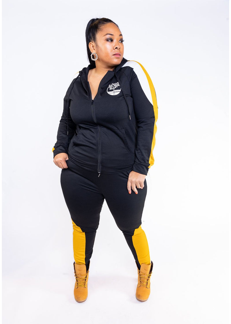 Timberland Set | Black | Curvy