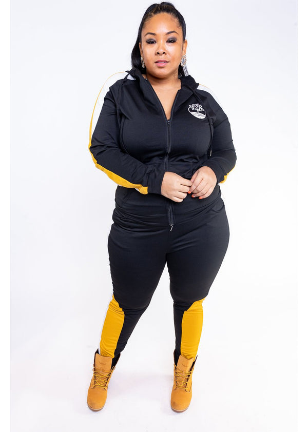 *Timberland Set | Black | Curvy
