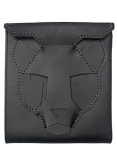 Black Leopard Wallet