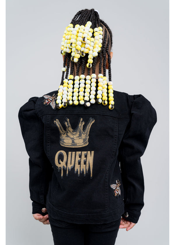 *Queen B Jacket | Kids | Black