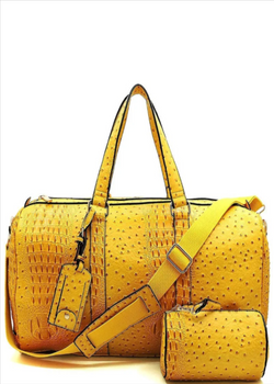 *ROC Duffle Bag | Yellow
