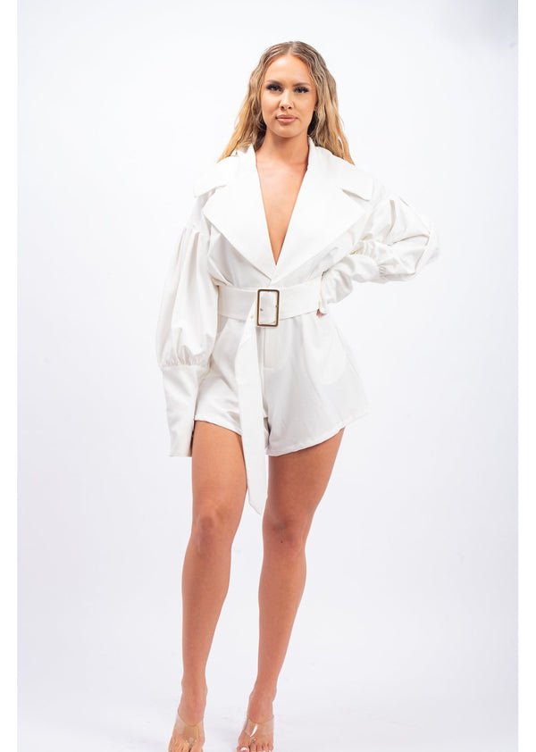 *Woman Of My Word Romper