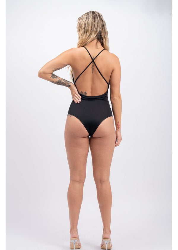 *Flat Black Bodysuit | Last One