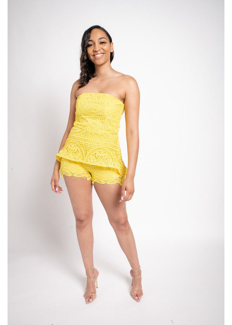 *Mellow Yellow Romper | LAST ONE