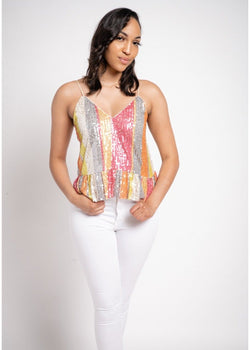 Shimmer Party Top