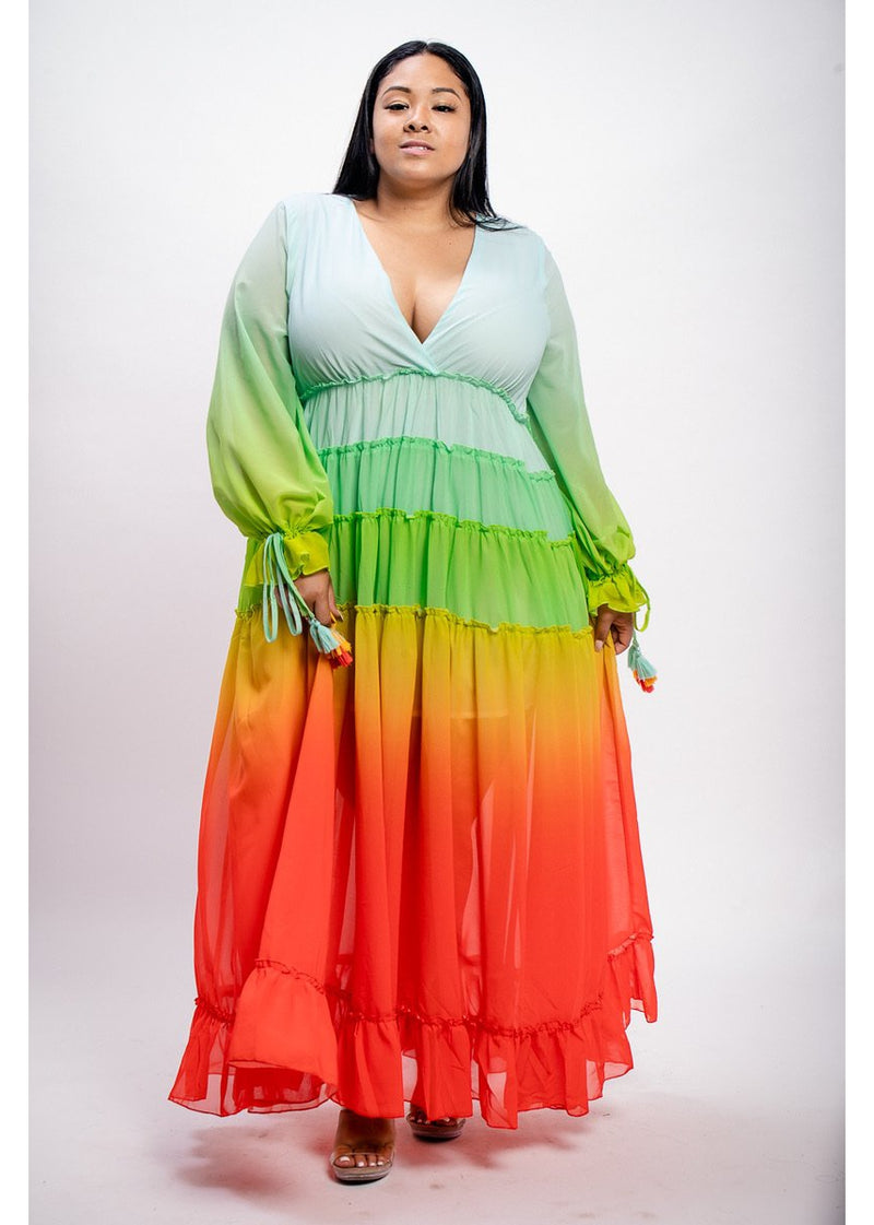 *Taste The Rainbow Dress