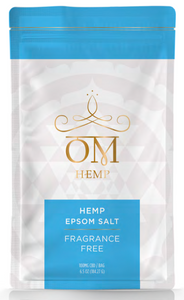 Fragrance Free 100mg CBD Epsom Salt