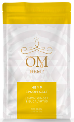 Lemon, Ginger & Eucalyptus 100mg CBD Epsom Salt