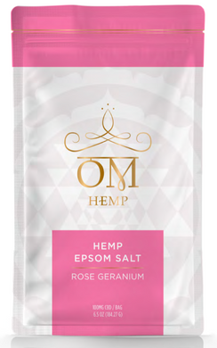 Rose Geranium CBD 100mg Epsom Salt