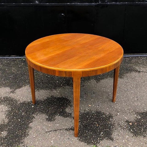 MID CENTURY MODERN ROUND BIG COFFEE TABLE