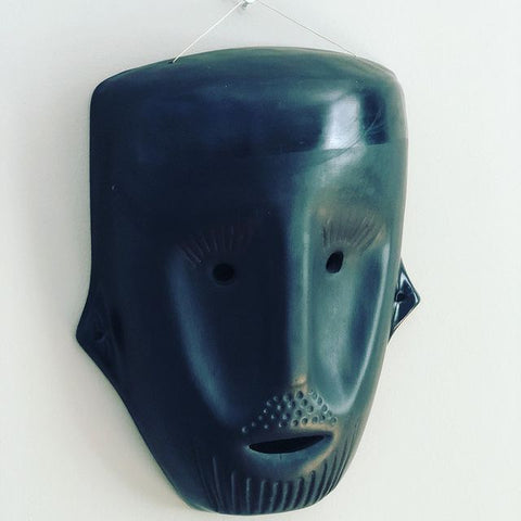 BLACK  CERAMIC MASK