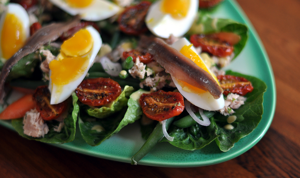 MY SALADE NICOISE RECIPE