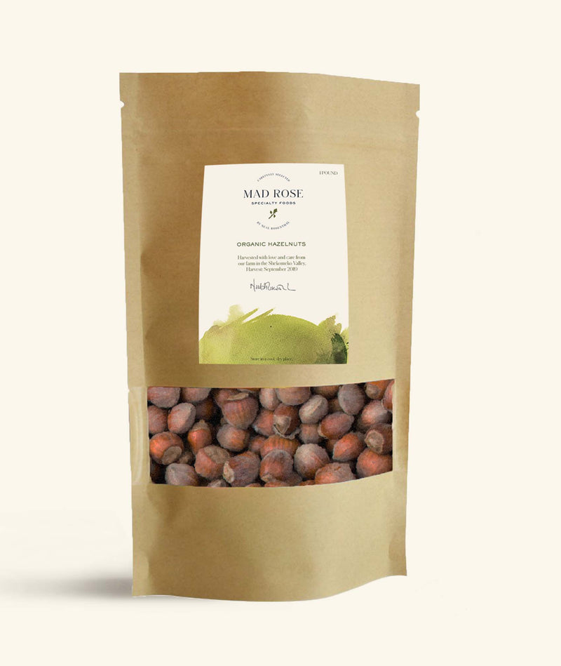 Mad Rose Organic Hazelnuts