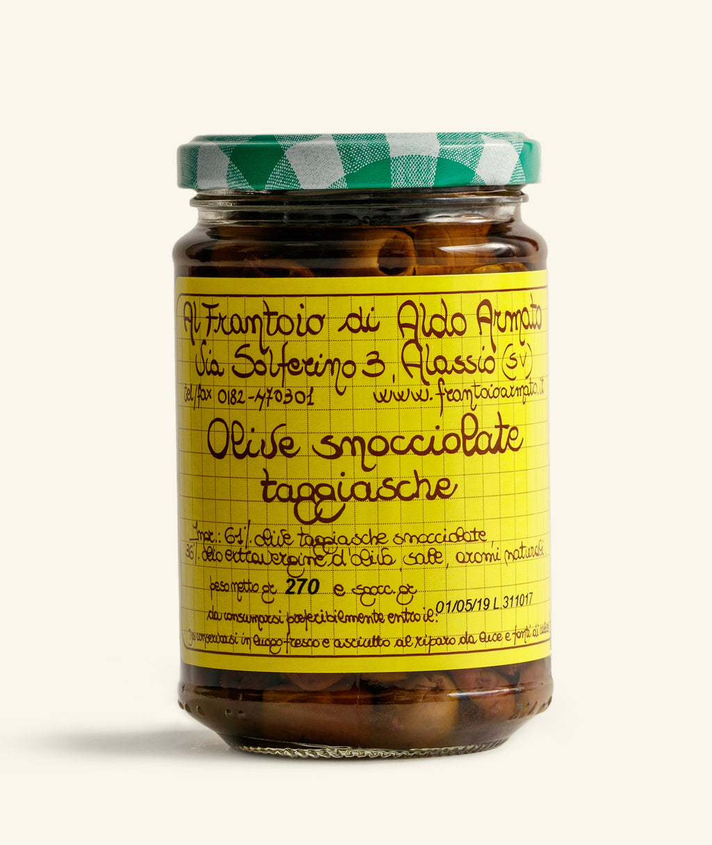 Snocciolate - Pitted Olives