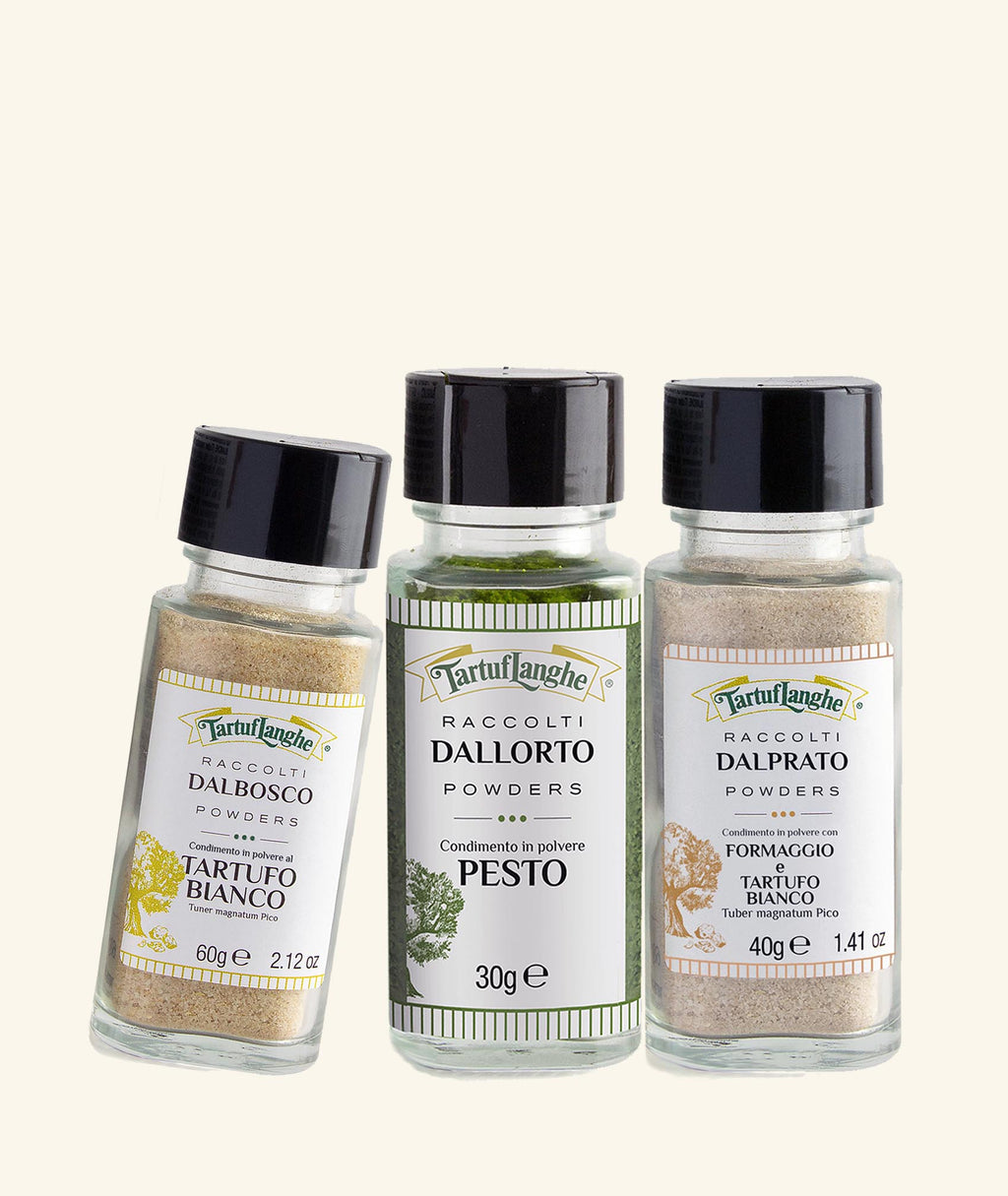 Tartuflanghe's Essential Powders