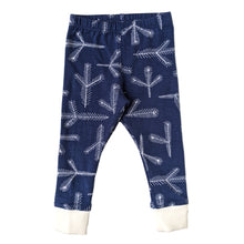 Organic Cotton Pajamas, Blue Pine Needles