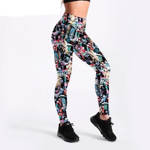 Elastic Slim Fitness Workout Leggings
